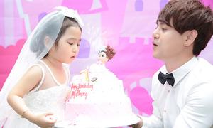 Ưng Đại Vệ tổ chức sinh nhật cho con gái