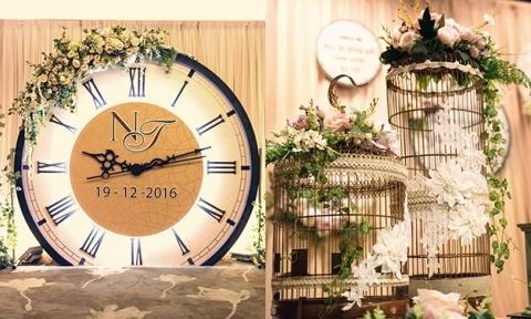 Tiệc cưới chủ đề 'quay ngược thời gian' ở Sài Gòn