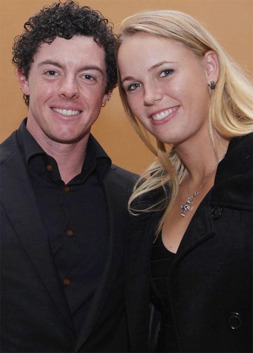 McIlroy và Wozniacki từng là đôi trai tài gái sắc