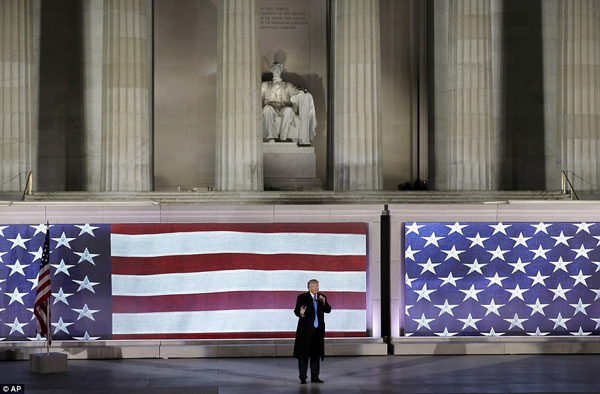I promise you, I will work so hard, the president-elect told the crowd in his pre-inaugural speech at the end of the concert