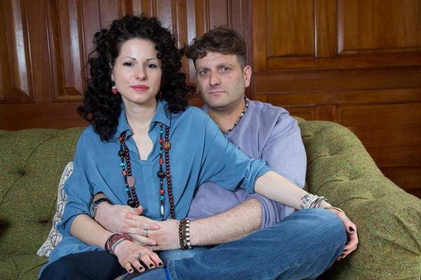 Andrew và bạn gái lâu năm