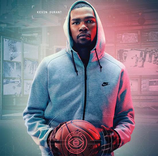 5. Kevin Durant: ¬ 33.7 million.  Sponsors: Nike, BBVA, beats, 2K Sports, Panini.