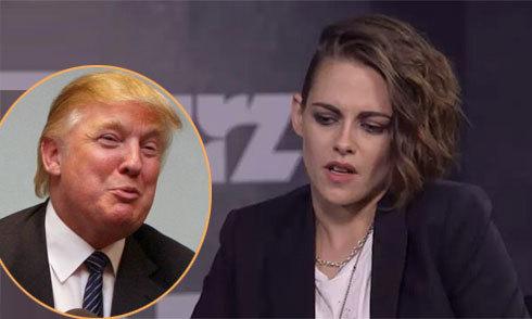 Kristen Stewart: 'Donald Trump từng bị ám ảnh thái quá về tôi'