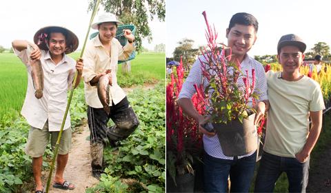 5 trải nghiệm ở Đồng Tháp dịp giáp Tết cùng Minh Luân và Hùng Thuận
