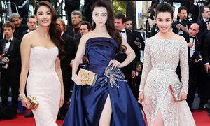 10 bộ đầm hiệu tuyệt đẹp của sao Hoa ngữ