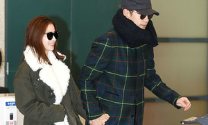 Bi Rain, Kim Tae Hee nắm tay nhau về Hàn Quốc sau trăng mật