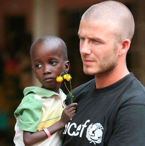 Becks khẳng định tiếp tục cộng tác với Unicef, tham gia các chương trình giúp đỡ trẻ em trên thế giới bất chấp những thông tin rò rỉ gây bất lợi cho hình ảnh đẹp đẽ xây dựng bấy lâu.