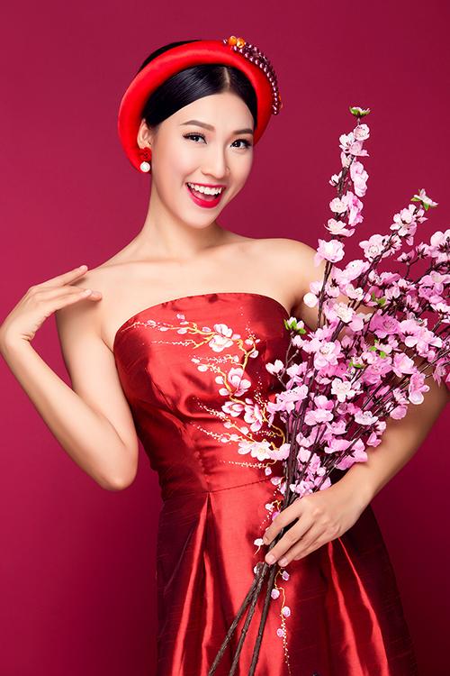 [Caption]Photo Bảo Lê Makeup Tuyết Nhi Cos Áo dài Minh Châu