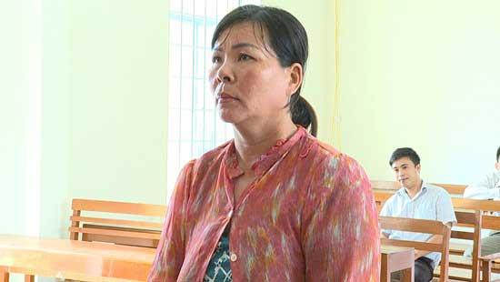 Bị cáo Nguyễn Thị Kiều.