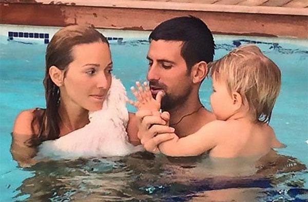 Vợ chồng Djokovic
