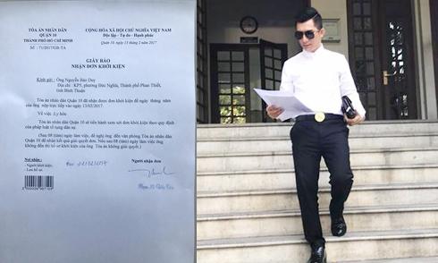 Chồng Phi Thanh Vân đã nộp đơn ly hôn