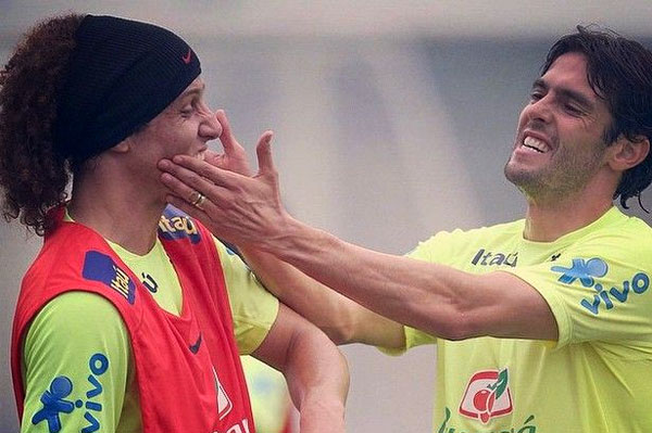 Kaka, David Luiz