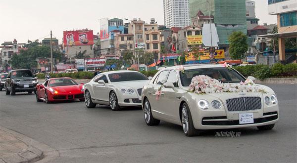 Bentley Flying Spur V8 và Bentley GT W12