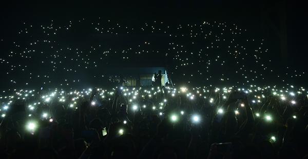 Hàng ngàn khán giả thủ đô