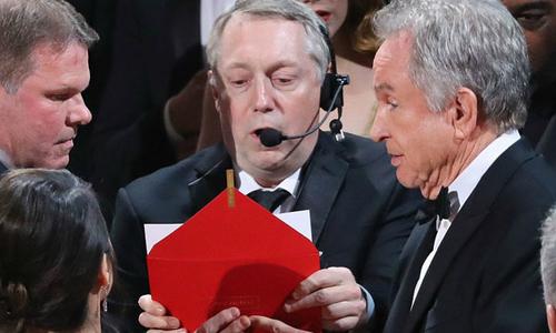 Giải Oscar bị trao nhầm vì... lộn phong bì