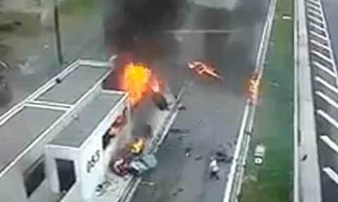 Con trai triệu phú Hy Lạp lái Porsche gây tai nạn chết 4 người