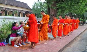 Sống chậm ở Luang Prabang