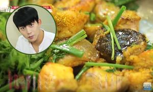 Sao Hàn không ngại lê la, ăn no các món vỉa hè ở Việt Nam