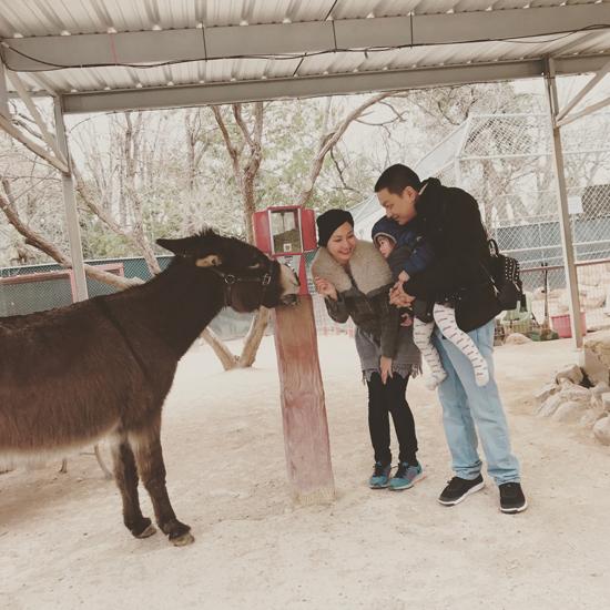 Kim Hiền chia sẻ với Ngoisao.net một số hình ảnh mới của gia đình cô trong chuyến du lịch cuối tuần trước tại Grand Canyon và Las Vegas (Mỹ).