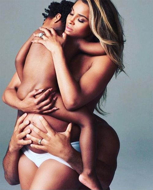 Bức ảnh nude gây tranh cãi của Ciara.
