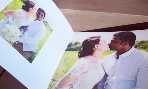 Lộ ảnh cưới của diễn viên Nguyệt Ánh và ông xã Ấn Độ