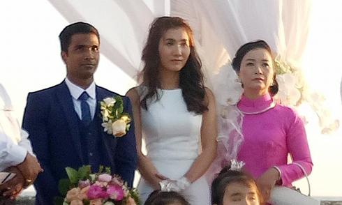 Chồng Ấn Độ của Nguyệt Ánh hứa sẽ chăm sóc vợ đến hết cuộc đời