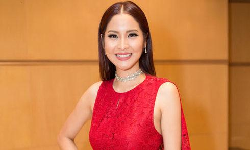 Hoa hậu Hoàn vũ Thái Lan rực rỡ với đầm Đỗ Mạnh Cường