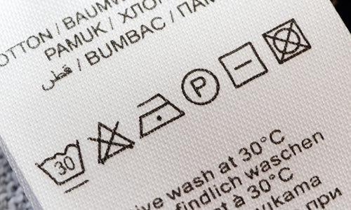 Ý nghĩa các biểu tượng về giặt ủi trên mác trang phục