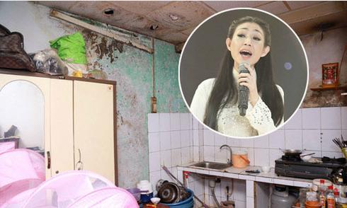 Sao Việt sống trong cảnh nhà cửa lụp xụp, dột nát