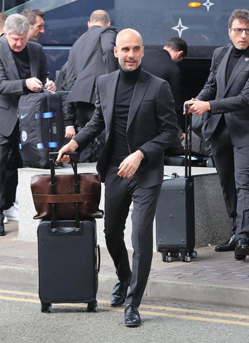 HLV Guardiola là một người rất chú ý trong ăn mặc