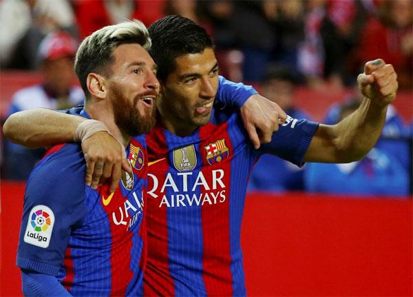 Messi và Suare