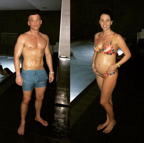 Danielle Lloyd và chồng sắp cưới Michael ONeil