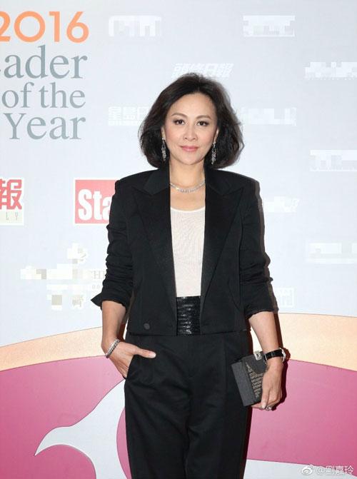 Chiều 16/3 Lưu Gia Linh góp mặt trong một sự kiện vinh danh tổ chức tại Hong Kong.