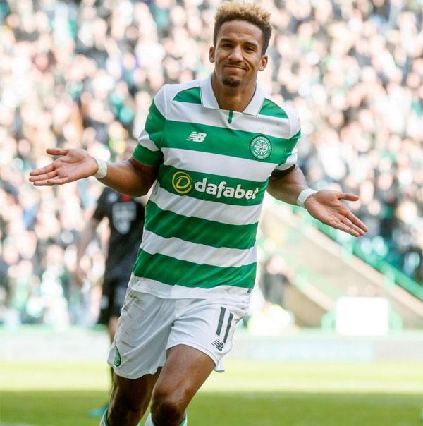 Tiền vệ Scott Siclair đang khoác áo Celtic ở Scotland.