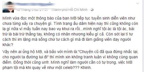 minh-beo-gay-buc-xuc-khi-dang-tin-chieu-sinh-dien-vien-tre-1