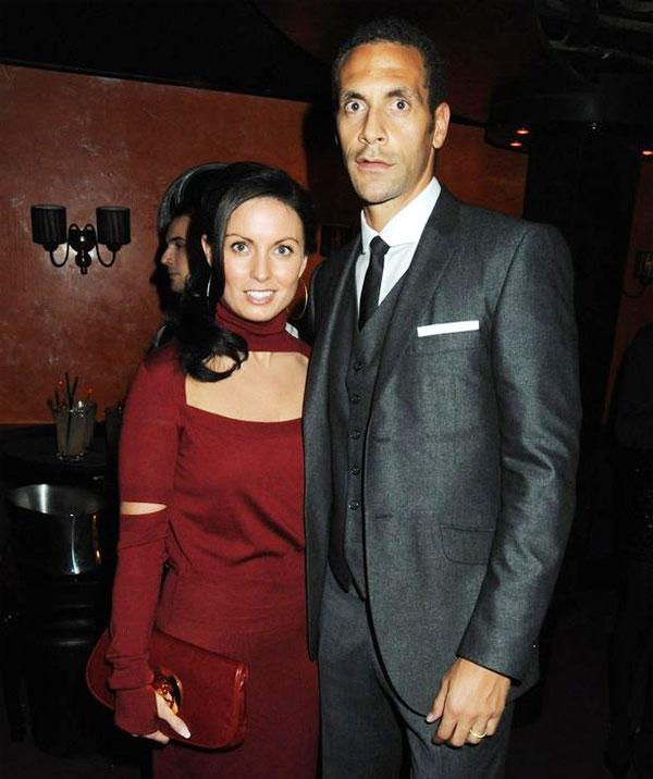 Ferdinand và bà xã quá cố Rebecca có gần 20 năm gắn bó và có ba đứa con