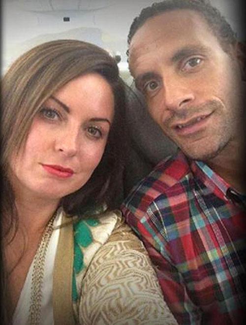 Ferdinand và Rebecca gắn bó gần 20 năm trước khi