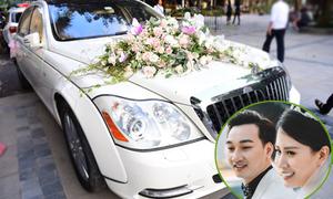 MC Thành Trung rước dâu bằng siêu xe 14 tỷ đồng
