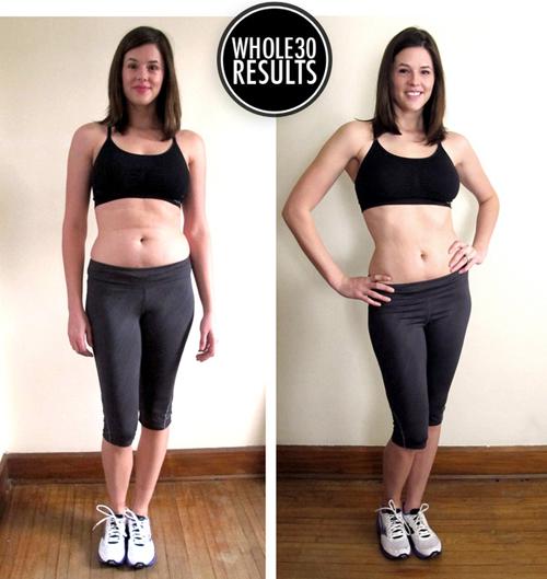 Chủ nhân trang blog về làm đẹp Whatiwore chia sẻ, cô đã giảm được 3 kg sau một tháng ăn theo chế độ The Whole30 Diet và cảm thấy ngủ ngon hơn.