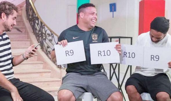Ronaldinho và Ro Béo cùng