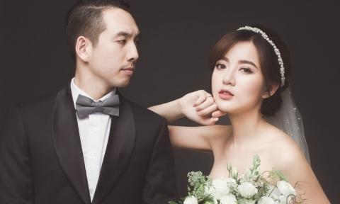 Hot girl Tú Linh tinh khiết trong ảnh cưới