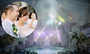 Tiệc cưới phong cách Gatsby của hot girl Tú Linh