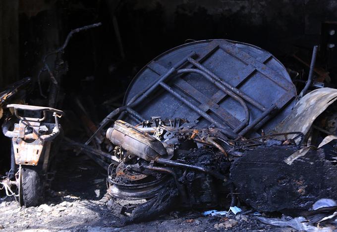 Hiện trường vụ cháy khiến 3 phụ nữ tử vong ở Đà Nẵng