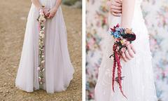 Hoa cưới đeo tay dáng dài 'gây bão' mùa cưới 2017