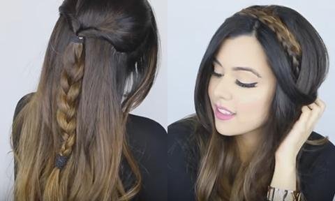 10 kiểu tóc đẹp chỉ mất vài phút tạo kiểu cho ngày đầu tuần bận rộn