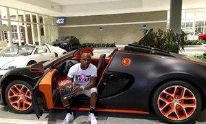 Siêu xe Bugatti của Mayweather được rao bán trên eBay