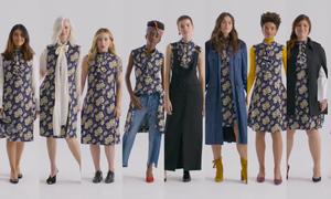 Khi 10 phụ nữ cùng mặc một chiếc đầm