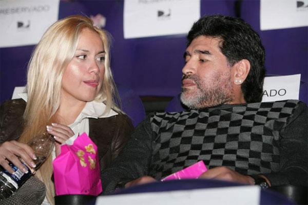 Maradona và tình cũ Veronica Ojeda