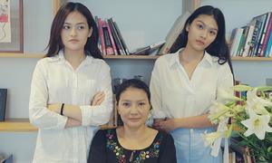 Hai mẹ con Kiều Trinh casting phim của đạo diễn Nguyễn Hoàng Điệp