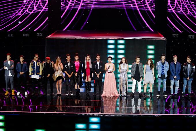 Hai đội còn lại có mặt trong chung kết là đội của S.T và Yến Trang. Đội Tronie - MiA bị loại. Đêm chung kết 1 phát sóng lúc 21h ngày 21/4 trên VTV3.
